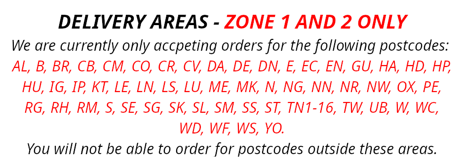 Restricted Delivery Areas