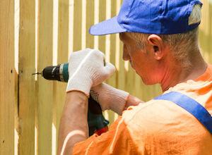 A step by step guide to building a fence