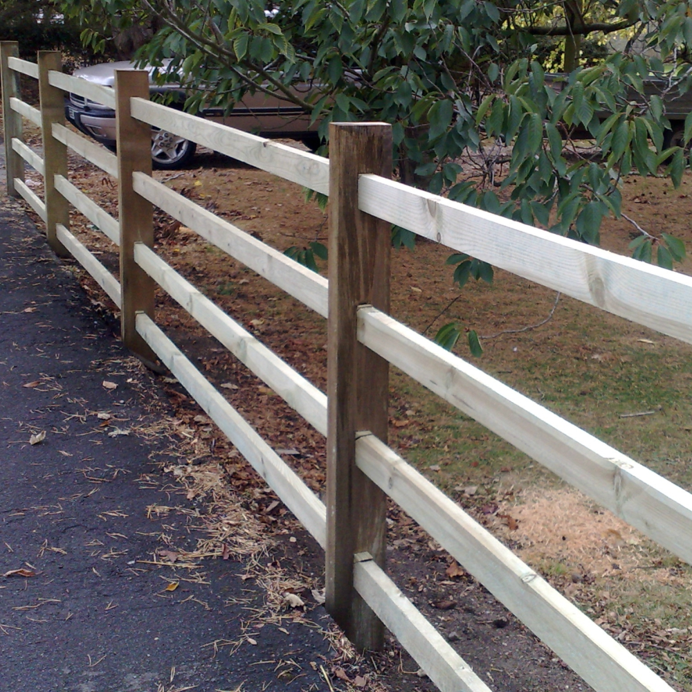 Mortice Post Amp Scarf Rail Fencing Pressure Treated