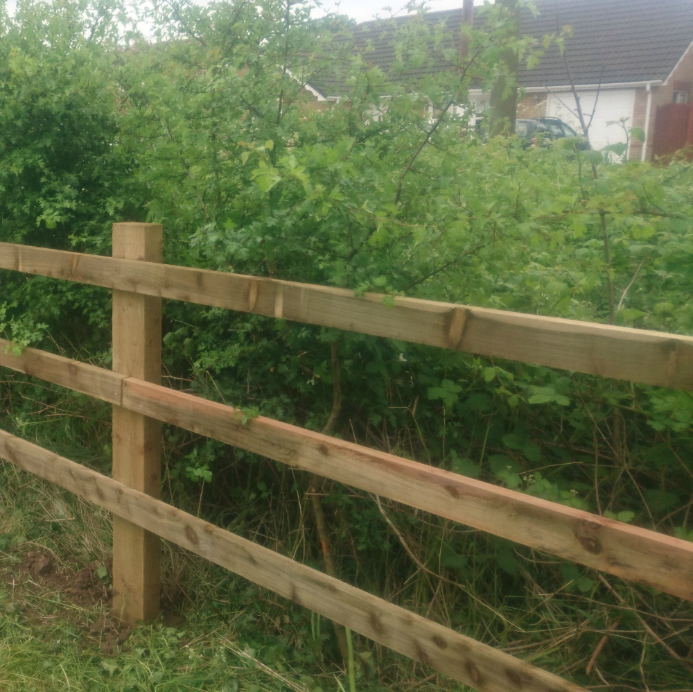 Fence Rails 47x75mm Wooden Rails Pressure Treated