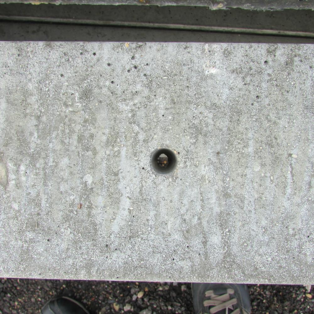Plastic Cement Board : Concrete fencing metre gravel board free delivery