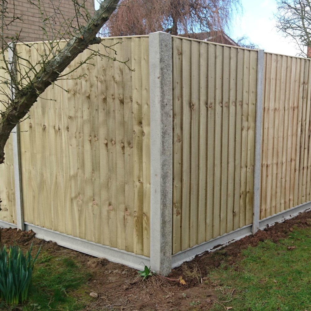 Concrete Fencing Slotted Corner Posts Free Delivery
