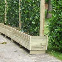 Garden Planters Free Delivery Available Fsc Certified Treated Timber