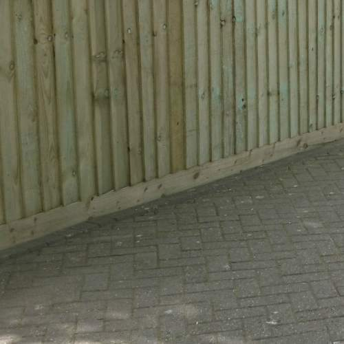 0221003600Green  Wooden Fence Gravel Board 22 X 100 X 3600mm 2