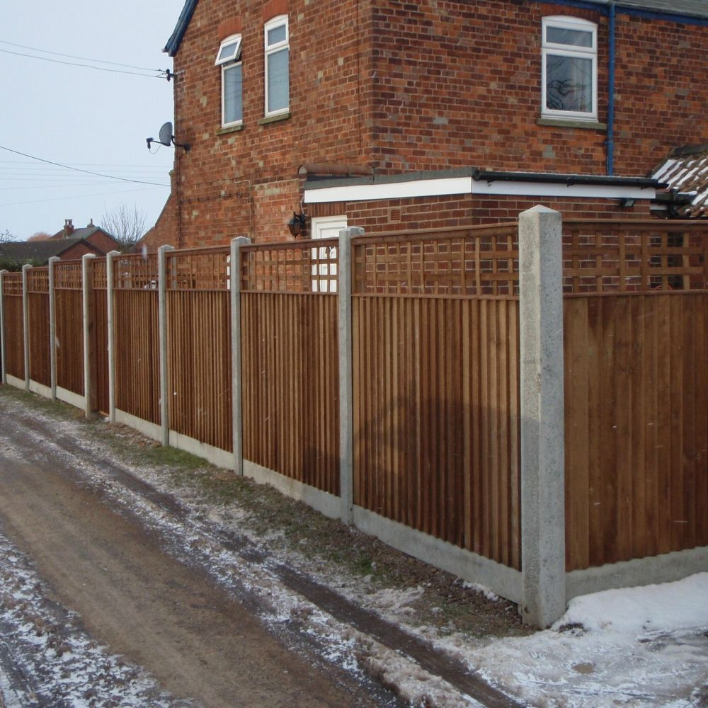Concrete Fencing Slotted Posts Reinforced Free