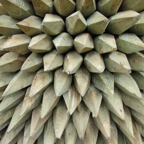 0751800MRGreen--Machine-Round-Wooden-Posts-2.JPG