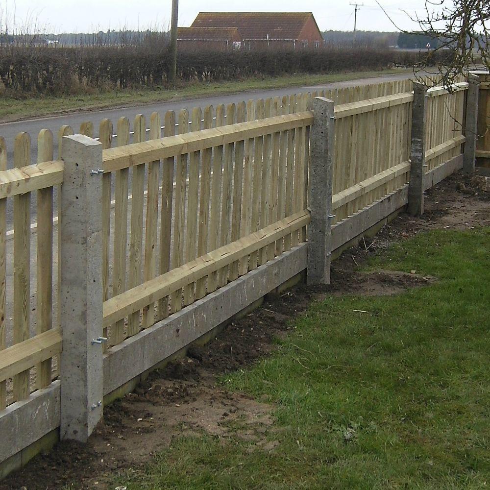Concrete Fencing 3 0 Metre Gravel Board Free Delivery