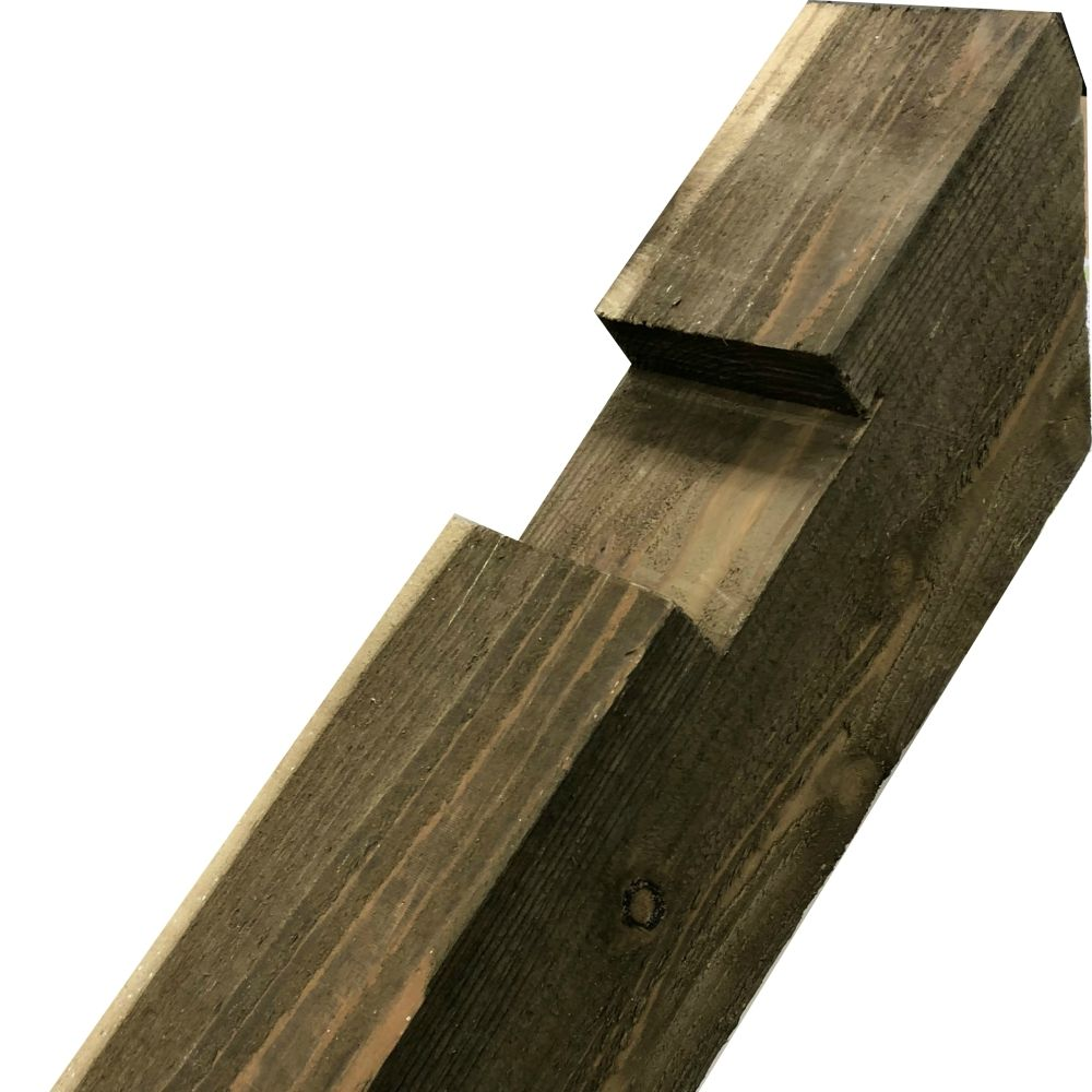 Fence Posts Notched | Wooden Post | Pressure Treated ...