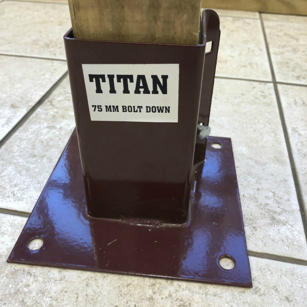 Metpost Boltdown Titan Fixings Free Delivery Available