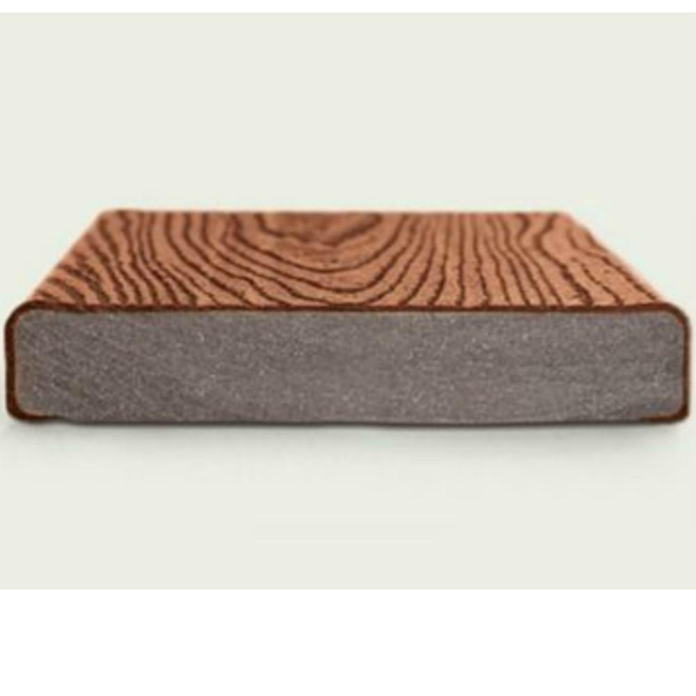 Trex transcend composite deck board lava rock free for Decking boards delivered