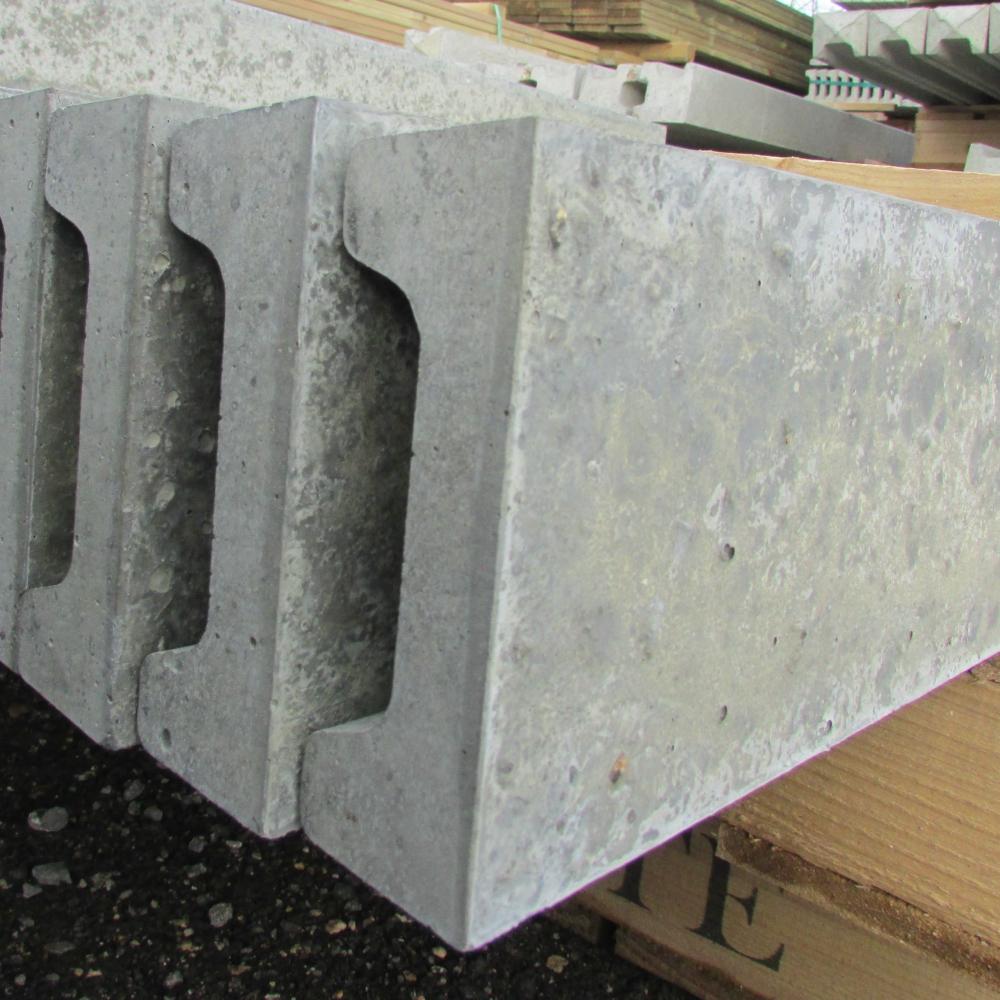 Plastic Cement Board : Concrete fencing gravel board kick free
