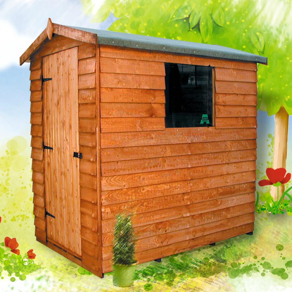 Cottage Shed Economy Overlap Garden Shed Albany Apex
