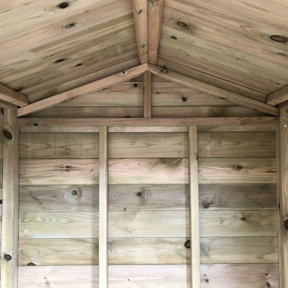 Garden Shed Apex Roof Pressure Treated Timber Bespoke