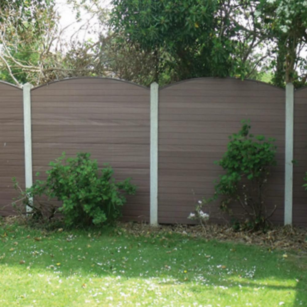 Convex Eco Fencing Boards Maintenance Free Fencing