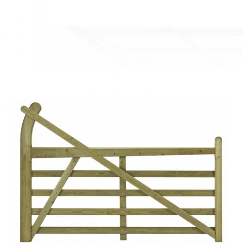 10033660EstateGreen--Wooden-Gate-Horned--12ft-Left-Handed-1.png