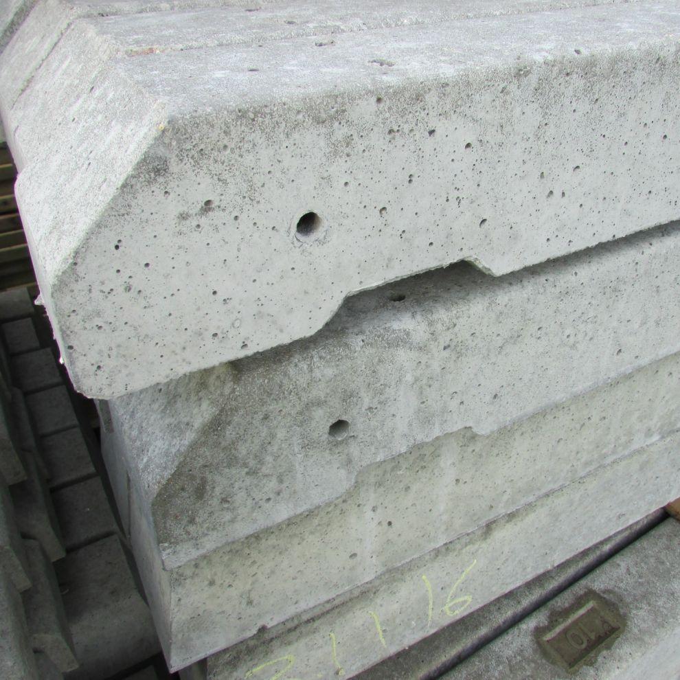 Recessed Concrete Fencing Concrete Posts Free Delivery