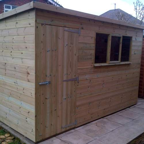 Shed1006PentGreen--Shed-Pressure-Treated-Quality-Tongue--Groove-Pent-Roof-10-x-6-Pent.jpg