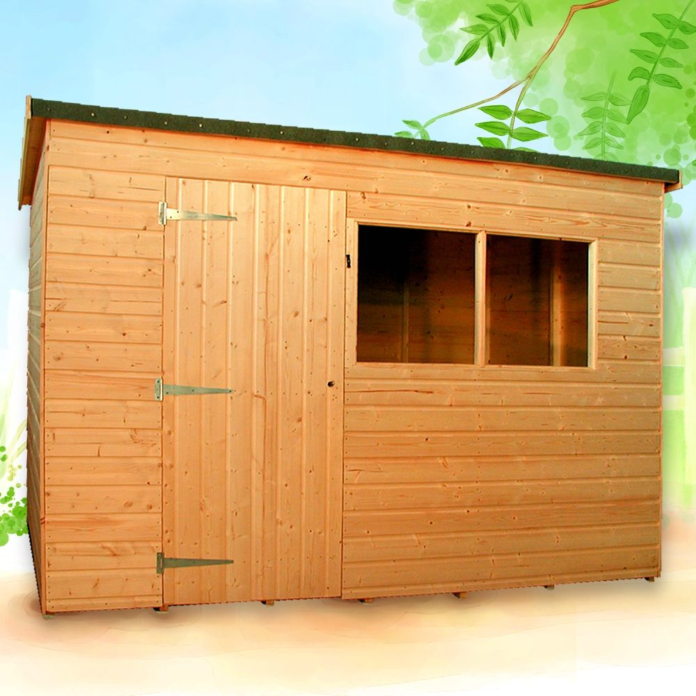 kent pent shed tongue groove albany apex roof. Black Bedroom Furniture Sets. Home Design Ideas
