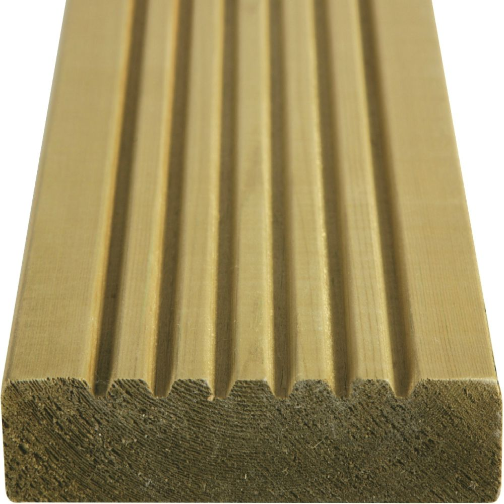 Timber decking pressure treated fsc certified free for Decking boards delivered