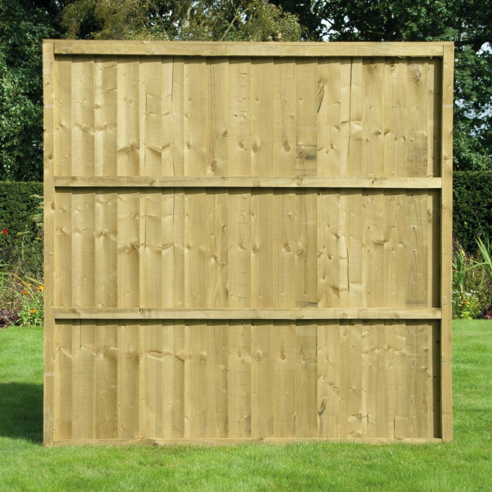 Closeboard Fence Panel Feather Edge Pressure Treated