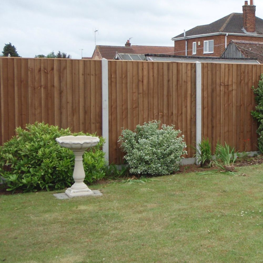 Heavy Duty Fence Panel - Feather Edge Boarded