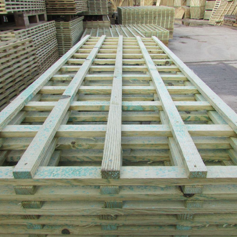 Heavy Duty Trellis Panel - Square Lattice