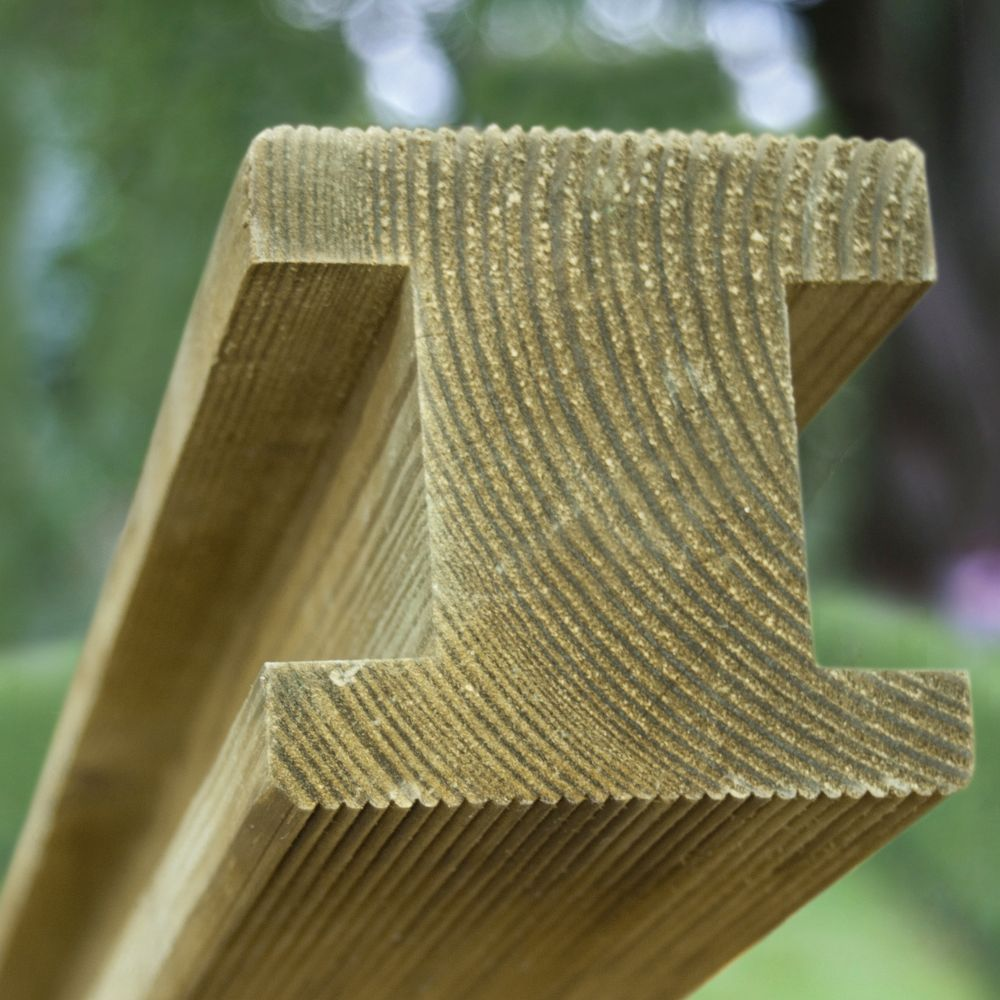 Wooden Post: Planed Fence Posts