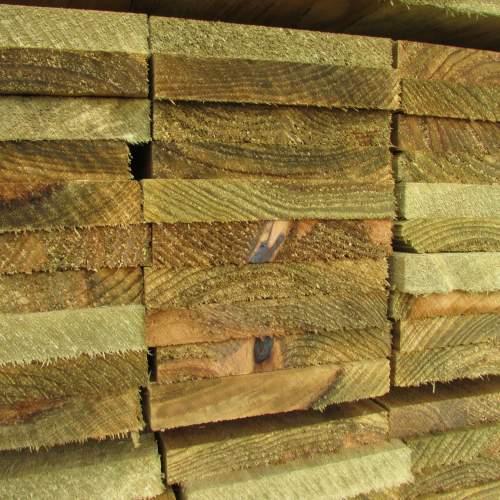 0221503600Green--Wooden-Fence-Gravel-Board-22-x-150-x-3600mm-1.JPG
