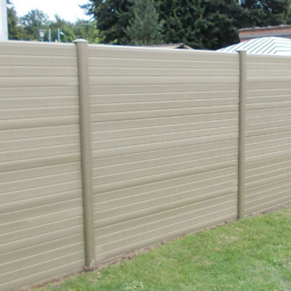 Natural Eco Fencing Posts Maintenance Free Fencing