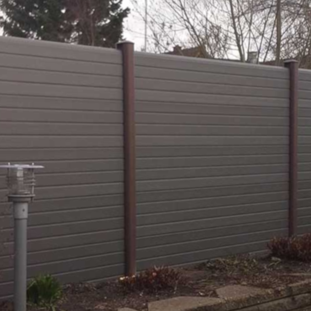 Walnut Eco Fencing Posts Maintenance Free Fencing
